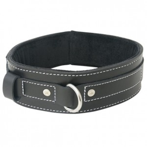 Obroża - Sportsheets Edge Lined Leather Collar