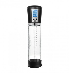Shots Pumped Shots Pumped Premium Rechargeable Automatic LCD Pump Transparent