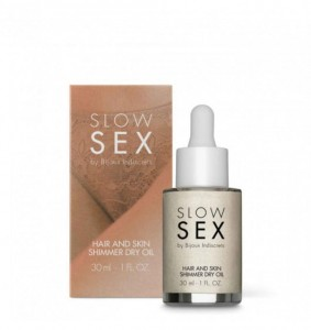Bijoux Indiscrets (SP) Slow Sex Hair and Skin Shimmer Dry Oil