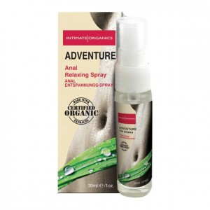 Spray analny dla kobiet - Intimate Organics Adventure Anal Spray Women