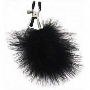 Zaciski na sutki - S&M Feathered Nipple Clamps